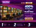 SLOTS PLUS   400 WELCOME BONUS