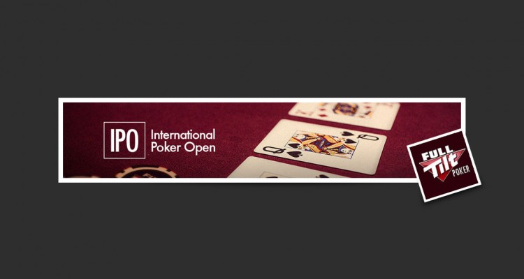 International poker open 2018