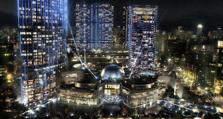 Melco Crown's new entertainment-focused casino in Macau