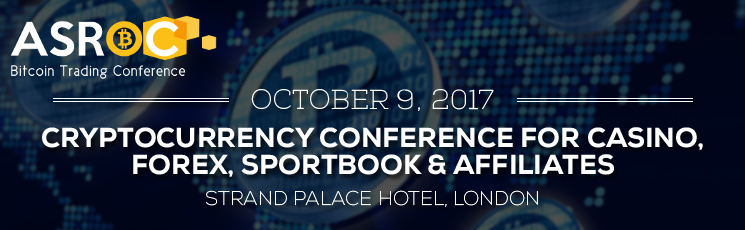 ASROC Cryptocurrency Conference for Casino, Forex, Sportsbook & Affiliates