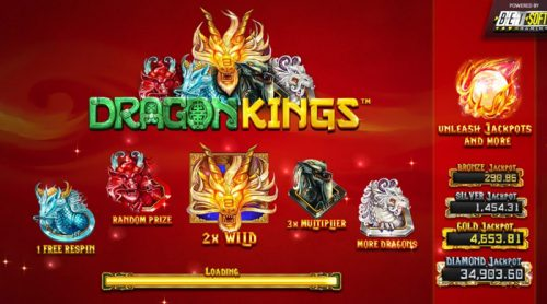 Betsoft Gaming's Dragon Kings Now Live