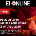 2020 A sneak peek of 2019 developments and what to expect at AGU
