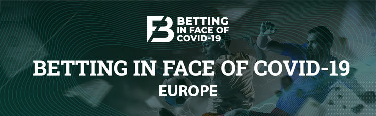 2020 Betting in face of COVID-19 (Europe)