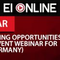 2020 Eventus International Webinar – Exploring iGaming Opportunities in Germany: Pre-Event Webinar for iGG (iGaming Germany)