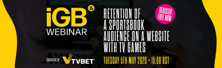 2020 iGB Webinar – Retention of a sportsbook audience on a website with TV games