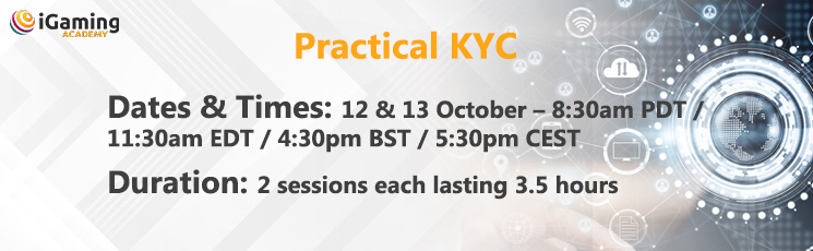 2020 iGaming Academy – Practical KYC